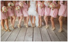Matching Shoes for the Bridal Party