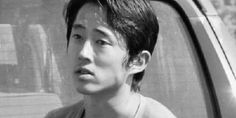 rhee from the story twd gif imagines by -urdeadd (izzy) with reads. imagine how sad he looks when you say you'll be g. Steven Yuen, Rip Glenn, Walking Dead Characters, Daryl, Glenn Rhee, Online Image Editor, Wattpad, Rick Grimes, Actor