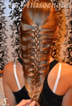 Fishtail Braid / Mermaid Braid Step-by-Step Tutorial