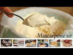 Recept na domáci mascarpone syr len z 2 ingrediencií! Krásne krémový a príprava je taká jednoduchá. Real Food Recipes, Dessert Recipes, Cooking Recipes, Comfort Food, Ricotta, Mozzarella, Mashed Potatoes, Smoothie, Garlic