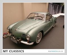 1958 VW karmann ghia classic car. Totally getting one of these as a project car when I retire!