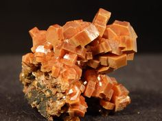 A Bunch of Perfect Little Vanadinite Crystals by EarthsAncientArt