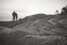 Sweet Lighthouse Park engagement session by http://theapartmentphotography.com