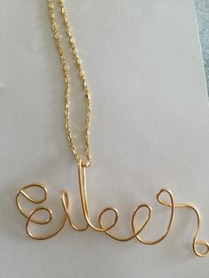 Eileen Name pendant Name ornament Christmas ornament by Lilyb444, $8.10