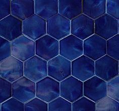 37 navy blue bathroom floor tiles ideas and pictures 2019 Hexagon Tile Bathroom, Bathroom Flooring, Hex Tile, Tile Flooring, Tiling, Navy Blue Bathrooms, Navy Bathroom, Bathroom Interior, Small Bathroom