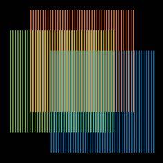 Cruz-Diez / Color Aditivo. Galería Cayón Fotografía cortesía Atelier Cruz-Diez, París