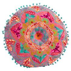 Kota Round Pillow - Bright & Bohemian on Joss & Main