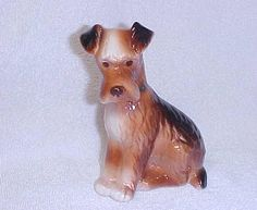 Vintage Royal Copley  Airedale Terrier Dog  by ShastavueBoutique, $22.00