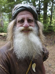 Mick Dodge has lived in the Olympic rainforest for 25 years, living off the land.