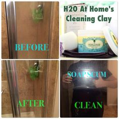The best product for shower doors, stovetop, sink, oven and so much more!  Food safe and non-toxic.  www.myh2oathome.com/connief