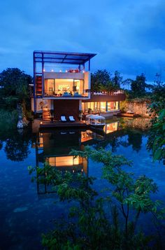Explore Rosewood Mayakoba through the eyes of its guests. These Rosewood Mayakoba resort photos provide a glimpse of the top luxury hotel in Playa del Carmen. Most Romantic Places, Romantic Vacations, Romantic Travel, Romantic Getaway, Winter Vacations, Riviera Maya, Beach Hotels, Hotels And Resorts, Beach Resorts