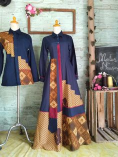 Model Dress Batik, Batik Dress, Kimono, Batik Fashion, Abaya Fashion, Dress Batik Kombinasi, Batik Kebaya, Hijab Chic, Kids Fashion
