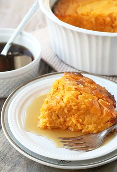 French style sweet potato soufflé is a fancified way of enjoying your sweet potatoes at the holidays. It's light, fluffy and delicious. Potato Dishes, Veggie Dishes, Potato Recipes, Vegetable Recipes, Thanksgiving Recipes, Fall Recipes, Holiday Recipes, Thanksgiving 2020, Sweet Potato Souffle