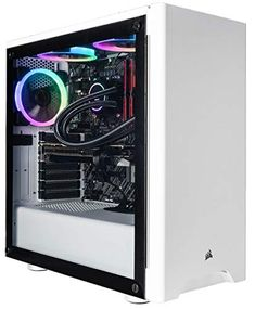 The CUK Sentinel II Extreme Gaming Desktop. You can do so much more with an Intel eight core processor, fast solid state drive, and powerful NVIDIA RTX 2080 graphics card. Gaming Computer Desk, Computer Gadgets, Gaming Desktop, Computer Case, Desktop Computers, Laptop Computers, Budget Gaming Pc, Gaming Pc Build, Acer Desktop