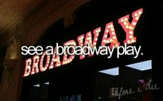 Not the biggest musical fan, but I know this would be one of the best experiences!