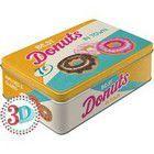 Nostalgic Μεταλλικό κουτί Flat 3D Donuts