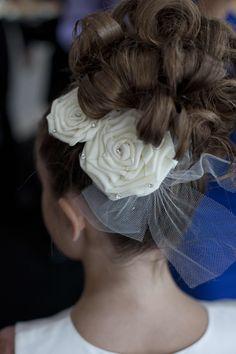 Flower Girl Hair Style  www.hotelarista.com  #AristaWeddings