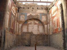 "MYTHOLOGY - ""Collegium Augustalium"", devoted to Hercules, at Herculaneum | Flickr - Photo Sharing!"