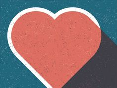 Designspiration — Dribbble - Have a heart. by Northcoast Zeitgeist