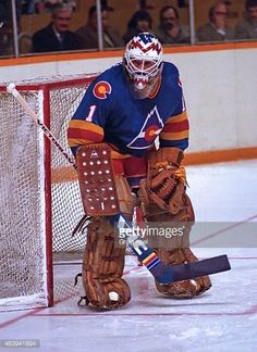 """""""Happy birthday to Glenn """"Chico"""" Resch, Stanley Cup champ w/ Also Hockey Goalie, Ice Hockey, Hockey Rules, Goalie Mask, New Jersey Devils, Colorado Rockies, National Hockey League, Sports Pictures, Champs"""