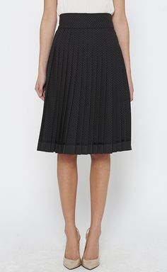Marc Jacobs Brown, Black And Tan Skirt