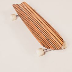 Longboard out of carefully selected reclaimed wood. For downhill action or beach cruising. The Selection, Action, Wood, Beach, Group Action, Woodwind Instrument, Seaside, Trees, Home Decor Trees