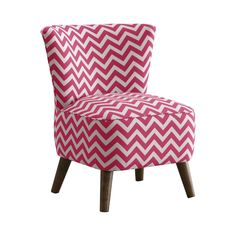 Revitalize your cool, contemporary living space with this lively chair design. decorated with fun, zigzag patterning, this modern Ziggy Accent Chair will prove a charming addition to any chic space. Ad...  Find the Ziggy Accent Chair, as seen in the Free Shipping Day: Seating Collection at http://dotandbo.com/collections/free-shipping-day-seating?utm_source=pinterest&utm_medium=organic&db_sku=111944