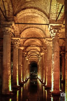Yerebatan Sarayi_Basilica Ciszterna_Isztambul_05