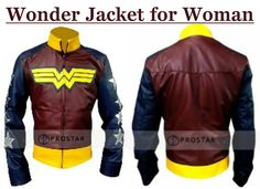 "Wonder Jacket for women from our online store at a competitive price. This new attire has been designed from the motivation of popular movie ""Wonder Women"" and worn by familiar American artist Adrianne Palicki!!  #WonderWomen #Movie #AdriannePalicki #Halloween #Sexy #Hot #Shopping #Fashion #Cosplay #Costume #Geek #Onlinestore #Womenfashion #WomenJacket"