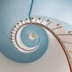 Inside a Lighthouse, Denmark