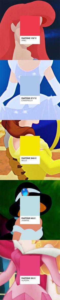 Disney Princesses Pantone® in Geek