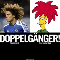 David Luiz vs Sideshow Bob