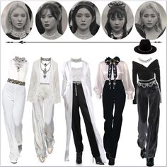 Kpop Fashion Outfits, Indie Outfits, Stage Outfits, Retro Outfits, Classy Outfits, Stylish Outfits, Cute Outfits, Award Show Dresses, Bts Inspired Outfits
