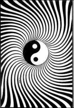 Yin-Yang Black Light Poster www.trippystore.com/yin_yang_black_light_poster.html #Kwai Feh Lifestyle