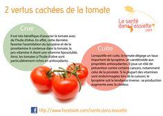 La Santé dans l'Assiette: Fiche pratique - 2 vertus cachées de la tomate