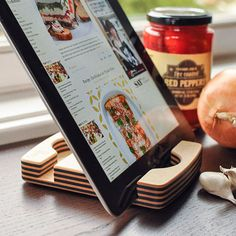 Eco-Friendly, Dishwasher-Safe iPad Stand from Chef Sleeve Product Review | The Kitchn