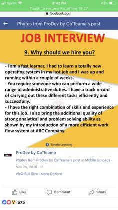 Best Interview Answers, Interview Skills, Job Interview Questions, Job Interview Tips, Job Resume, Resume Tips, Job Interview Preparation, Healthcare Careers, Internet Jobs