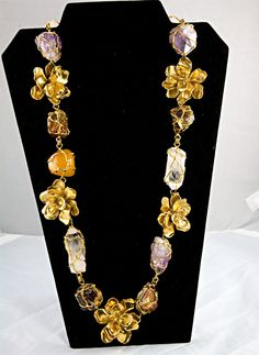 1stdibs.com | Couture YSL Necklace by Robert Goosens