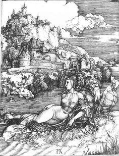 Albrecht Durer - The Sea Monster