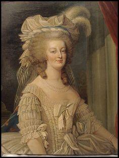 A portrait of Marie Antoinette circa 1870
