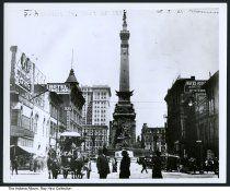 Market Street and Illinois, Indianapolis, Indiana, ca. 1910