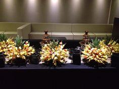 Buffet dei dolci con frutta e fontane di cioccolato ... un evergreen che non tradisce mai