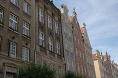 "Old Town in Gdansk, Poland. Princess ""Star"" Ship."