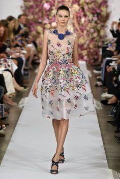 New York Fashion Week Oscar de la Renta Primavera-Verano 2015   telva.com