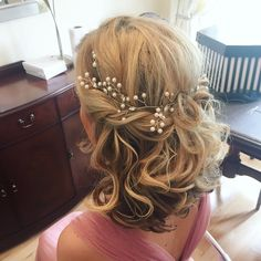 Our fabulous Nathan has been working his hair magic again for this wedding party.    To book your free Wedding Hair consultation call 02920461191  O.Constantinou & Sons, 99 Crwys Rd, Cardiff. CF24 4NF  #WeddingHair #BridalHair #WeddingHairCardiff #HairSalonCardiff #WeddingHairUp #WeddingIdeas