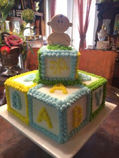 564 best baby cakes images in 2019 Baby Shower Sheet Cakes, Baby Shower Cakes For Boys, Baby Boy Cakes, Baby Shower Themes, Shower Ideas, Baby Shower Deco, Shower Bebe, Baby Boy Shower, Baby Chower