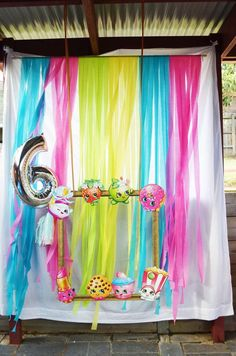 Latest Images Take a look at the awesome backdrop and frame at this Shopkins Bir. Latest Images Take a look at the awesome backdrop and frame at this Shopkins Birthday Party fo… Adult Party Decorations, Birthday Decorations, 6th Birthday Parties, Birthday Ideas, 10th Birthday, Diy Party, Party Ideas, Shopkins Bday, Birthday Backdrop