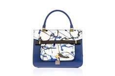 Vionnet: Jackson Pollock-esque drip paintings inspired this colorful trim. Beautiful Bag #BeautifulNow