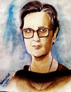 Amrita Pritam(Watercolors)