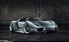 Porsche 918 Spyder Roadster Concept - Porsche Wallpaper ID 1968342 - Desktop Nexus Cars Bugatti, Lamborghini, Ferrari, Sexy Cars, Hot Cars, My Dream Car, Dream Cars, Porsche 918 Spyder, Porsche 2017